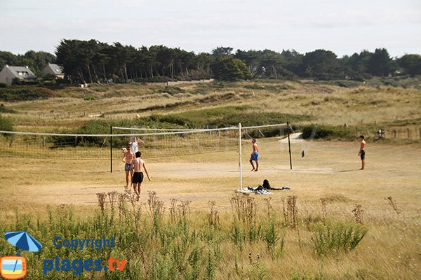 Beach Volley - plage de St Gildas de Rhuys