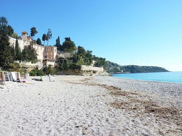 Cap Martin from Golfe Bleu beach in Roquebrune-Cap-Martin