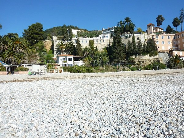 Belle Epoque home on Golfe Bleu beach in Roquebrune Cap Martin
