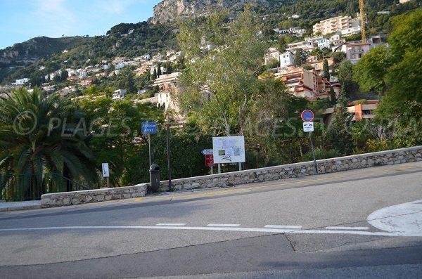 Access to Golfe Bleu beach - Roquebrune-Cap-Martin