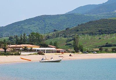 Beach in the gulf of Lava - Corsica