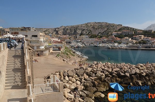 Photo of Goudes beach in Marseille