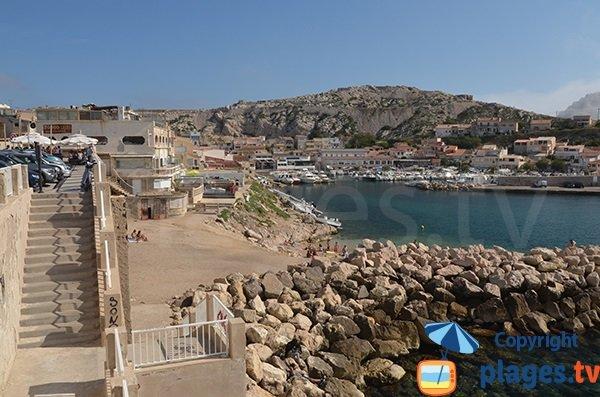 Photo of Goudes beach in Marseille
