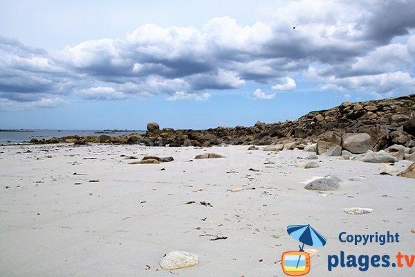 Photo de la plage du Gouérou à Lampaul Plouarzel