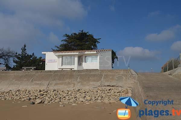 Poste de secours de la plage du Goulet - St Vincent sur Jard