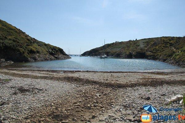 Photo de la plage de plage de Goulphar - Bangor - Belle Ile