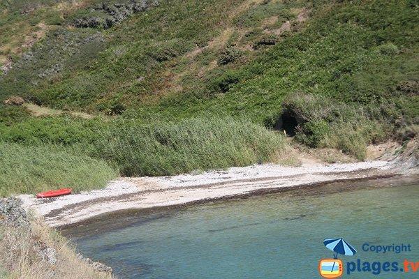 Accès à la plage de Goulphar depuis Radenec - Belle-Ile
