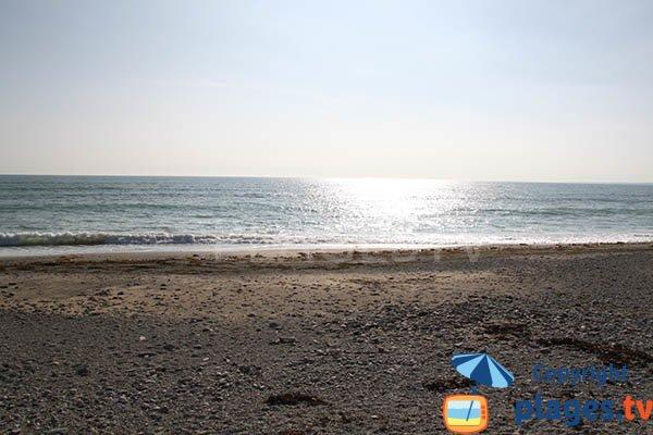 plage de Gourinet à Pouldreuzic et baie d'Audierne