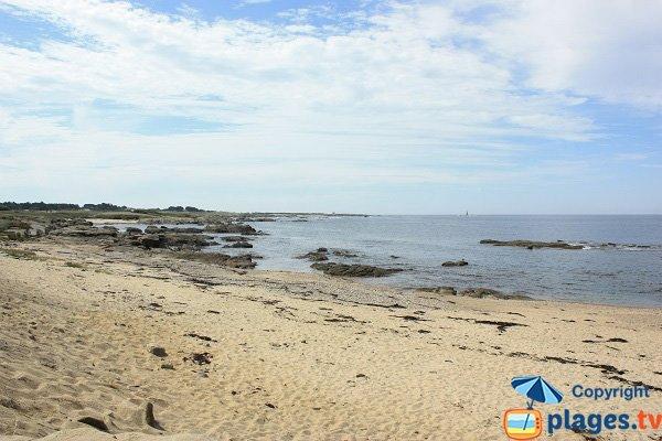 Beach after the Gournaise tip - Ile d'Yeu