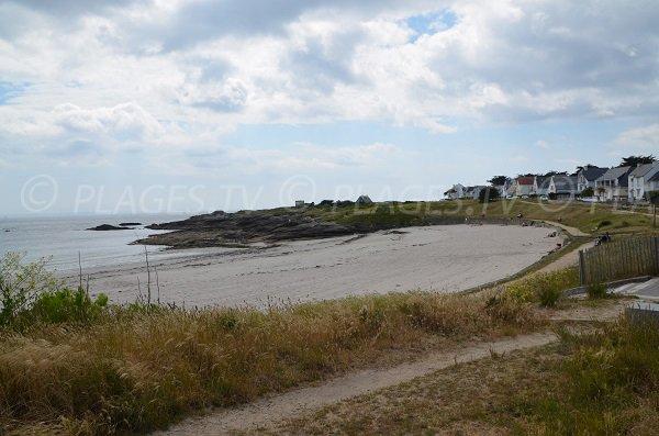 Photo de la plage du Goviro à Quiberon