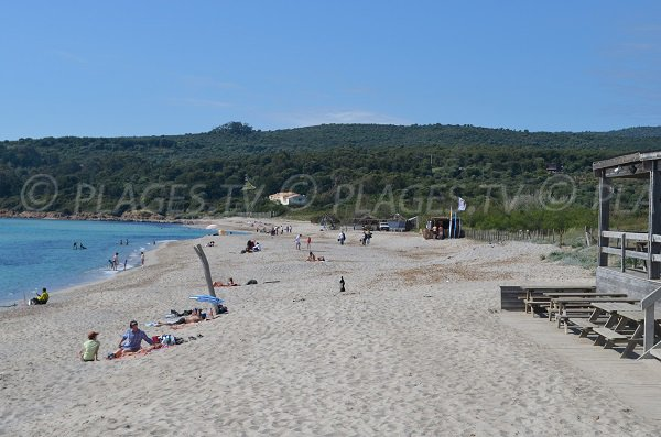 Private beach of Grand Capo - Ajaccio