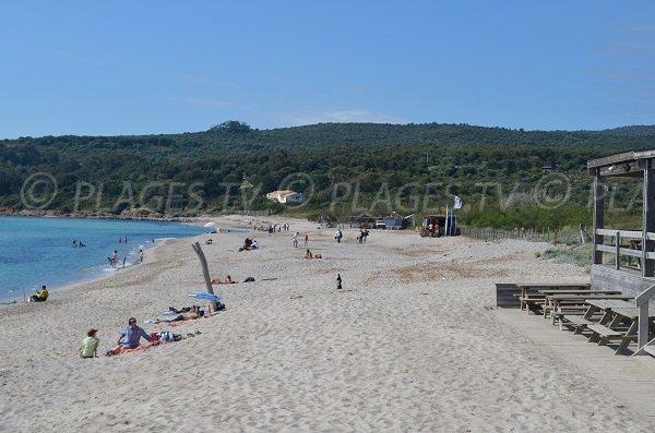 Pailotte spiaggia Capo di Feno Ajaccio