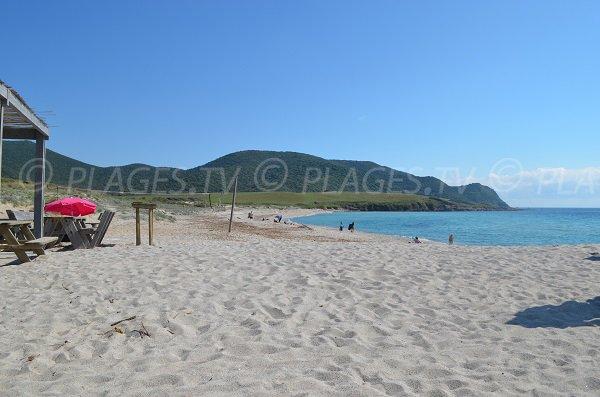 Spiaggia di Grand Capo - vista piccolo capo