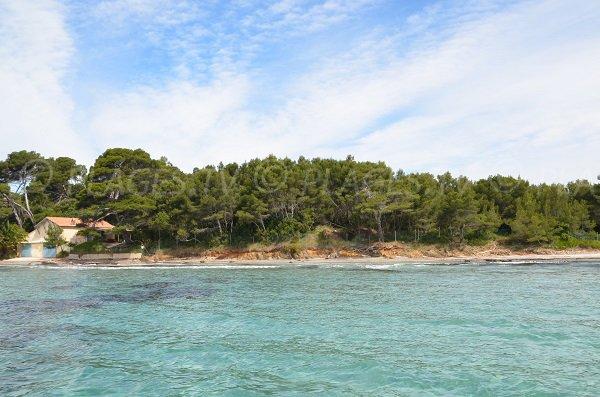 Spiaggia del Grand Jardin di Bormes les Mimosas