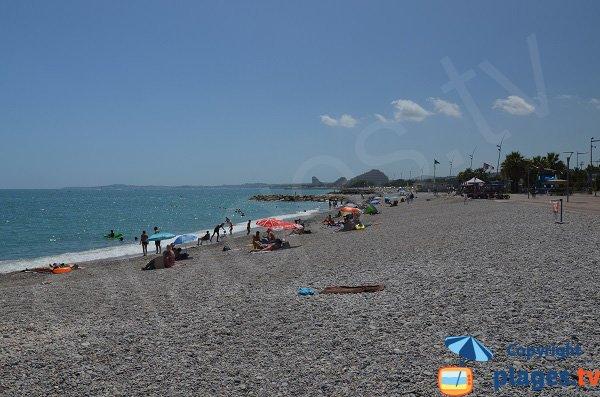 Photo de la plage du Grande Large - Cagnes sur Mer