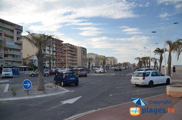 Costruire accanto alla spiaggia del Grand Large a Canet-Plage