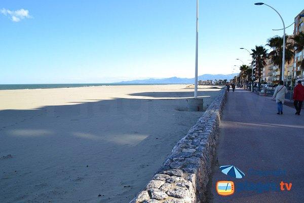 Foto della spiaggia del Grand Large - Canet en Roussillon
