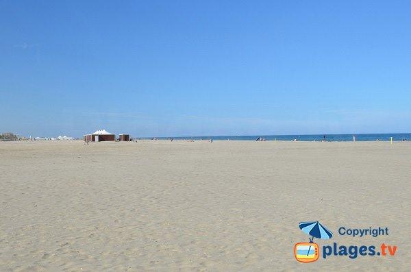 Foto della spiaggia Grand Large - Canet en Roussillon