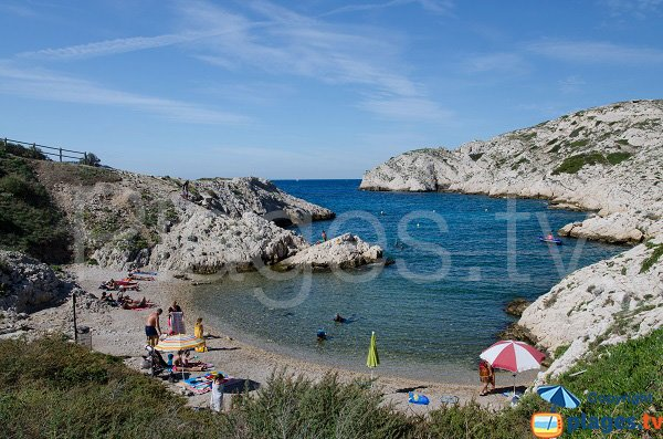Calanque in Frioul - Grand Soufre