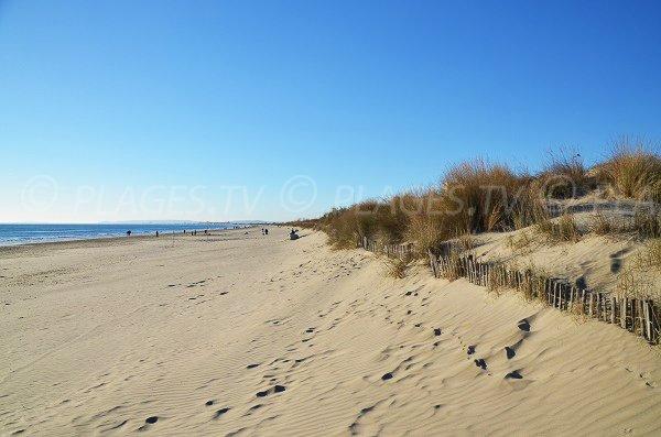 Photo de la plage du Grand Travers - Grande Motte
