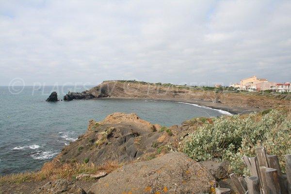 Photo de la plage de la Grande Conque au Cap d'Agde