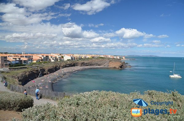 Photo of the Grande Conque in Cape d'Agde in France