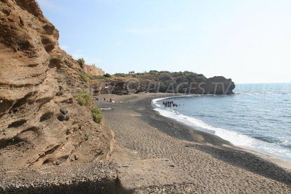 Plage de la Grande Conque au Cap d'Agde