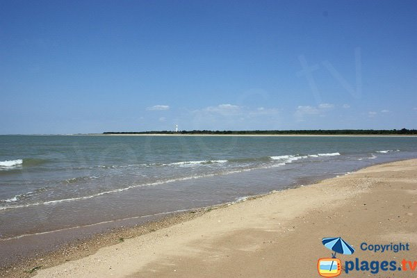Plage de la Grande Côte et vue sur Noirmoutier