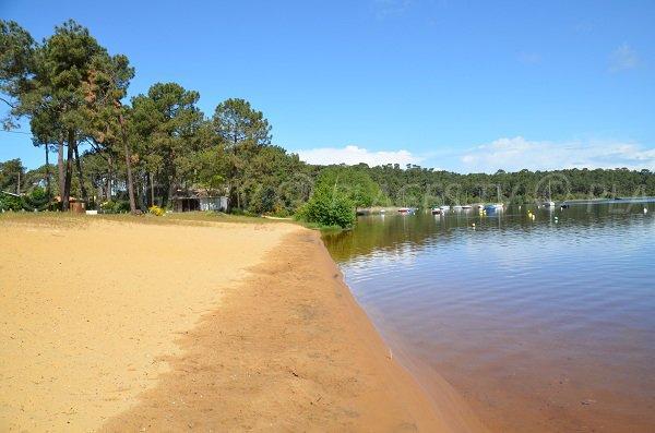 Lacanau lake beach - France