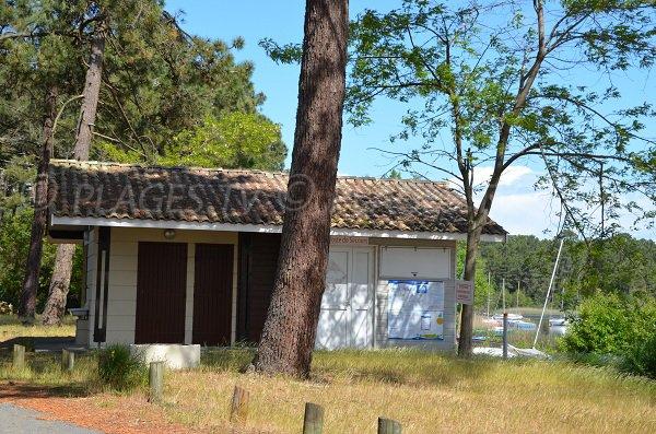 First aid station of La Grande Escoure - Lacanau lake