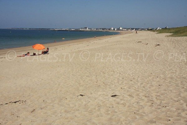 Photo of Grande Falaise beach in La Turballe - France