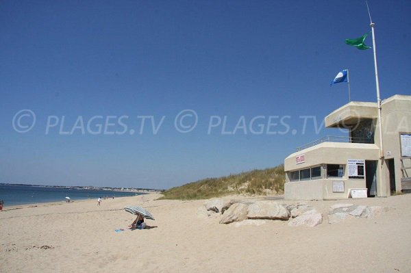 Poste de secours de la plage de la Grande Falaise - La Turballe