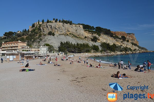 Private beach in Cassis - Grande Mer