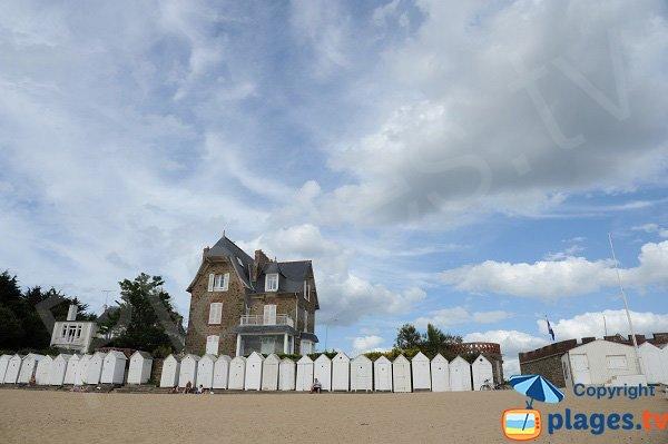 House front of Salinette beach - St Briac sur Mer