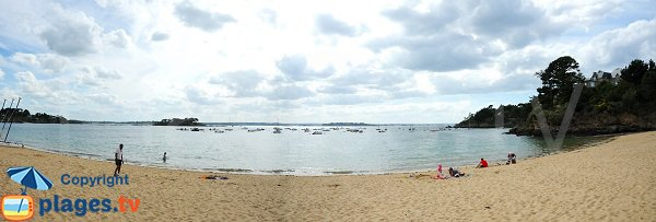 Panorama de la plage de la Salinette - Saint Briac sur Mer