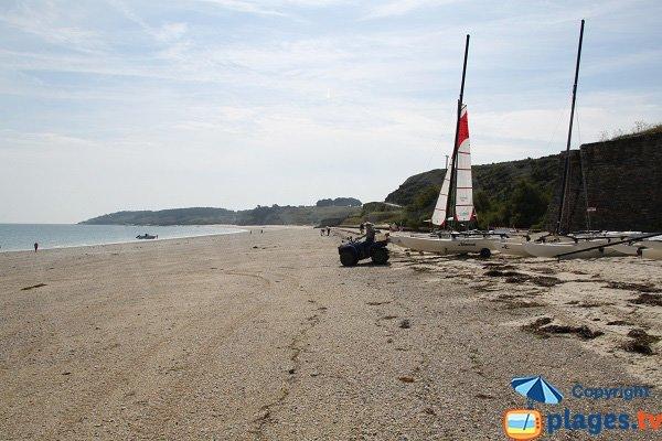 Photo de la plage des Grands Sables à Belle Ile en Mer