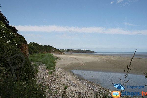 Mares sur la plage de Grandville - Hillion