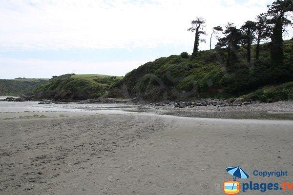Environnement de la plage de Grandville à Hillion