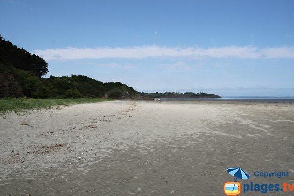 Photo de la plage de Granville à Hillion