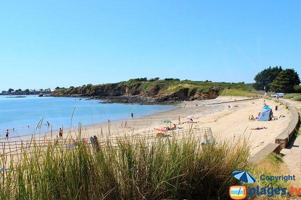 Photo de la plage des Granges à Billiers - Bretagne