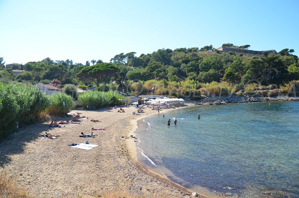 General view of the Graniers beach