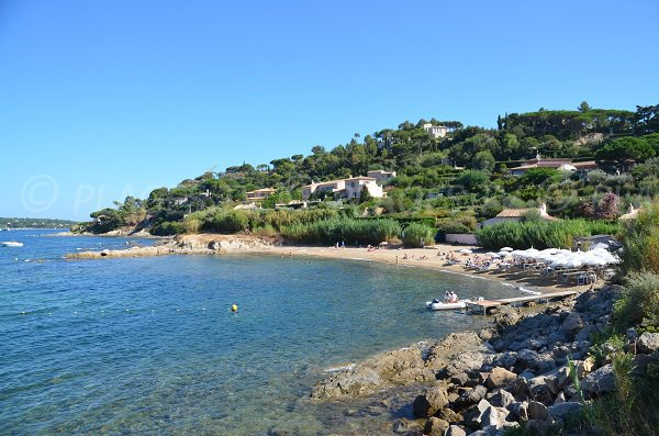 Photo of Graniers beach in Saint Tropez