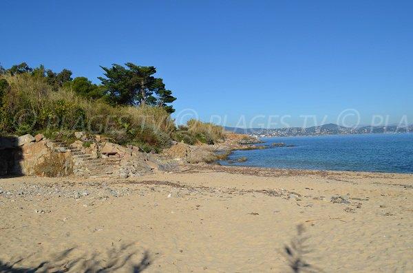 Beach of Graniers in St-Tropez - France