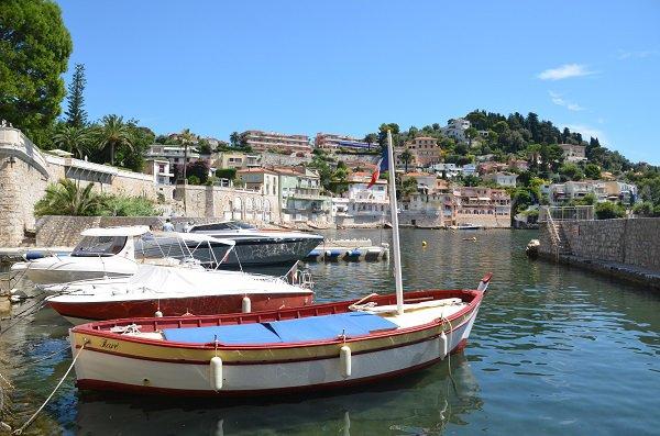 Port privé sur la plage du Grasseuil - Villefranche sur Mer