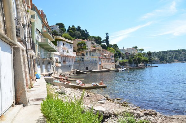 Houses on the Grasseuil beach - Villefranche sur Mer