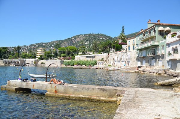 Docks on the Grasseuil beach - Villefranche sur Mer