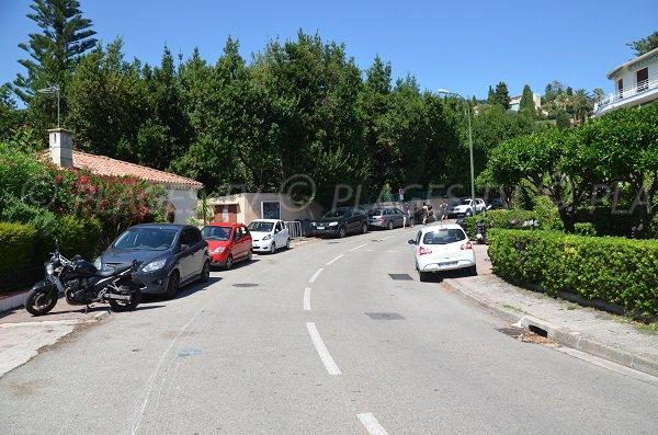 Quartier du Grasseuil à Villefranche sur Mer