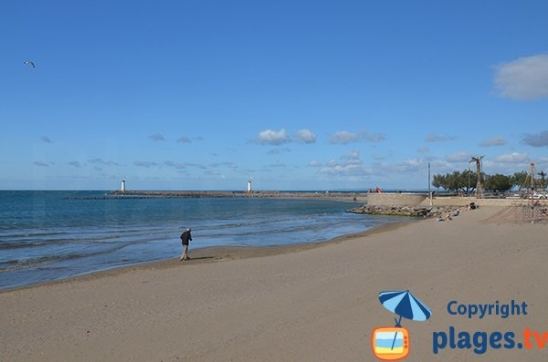 Photo of Grau d'Agde beach - France