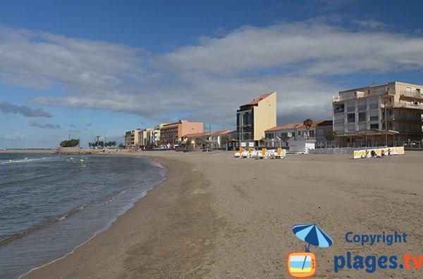 Main beach of Grau d'Agde