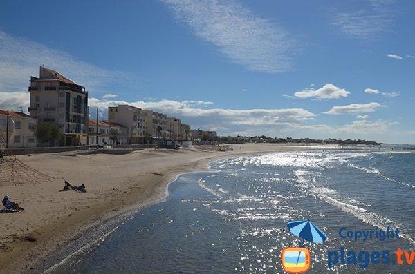 Photo de la plage du Grau d'Agde